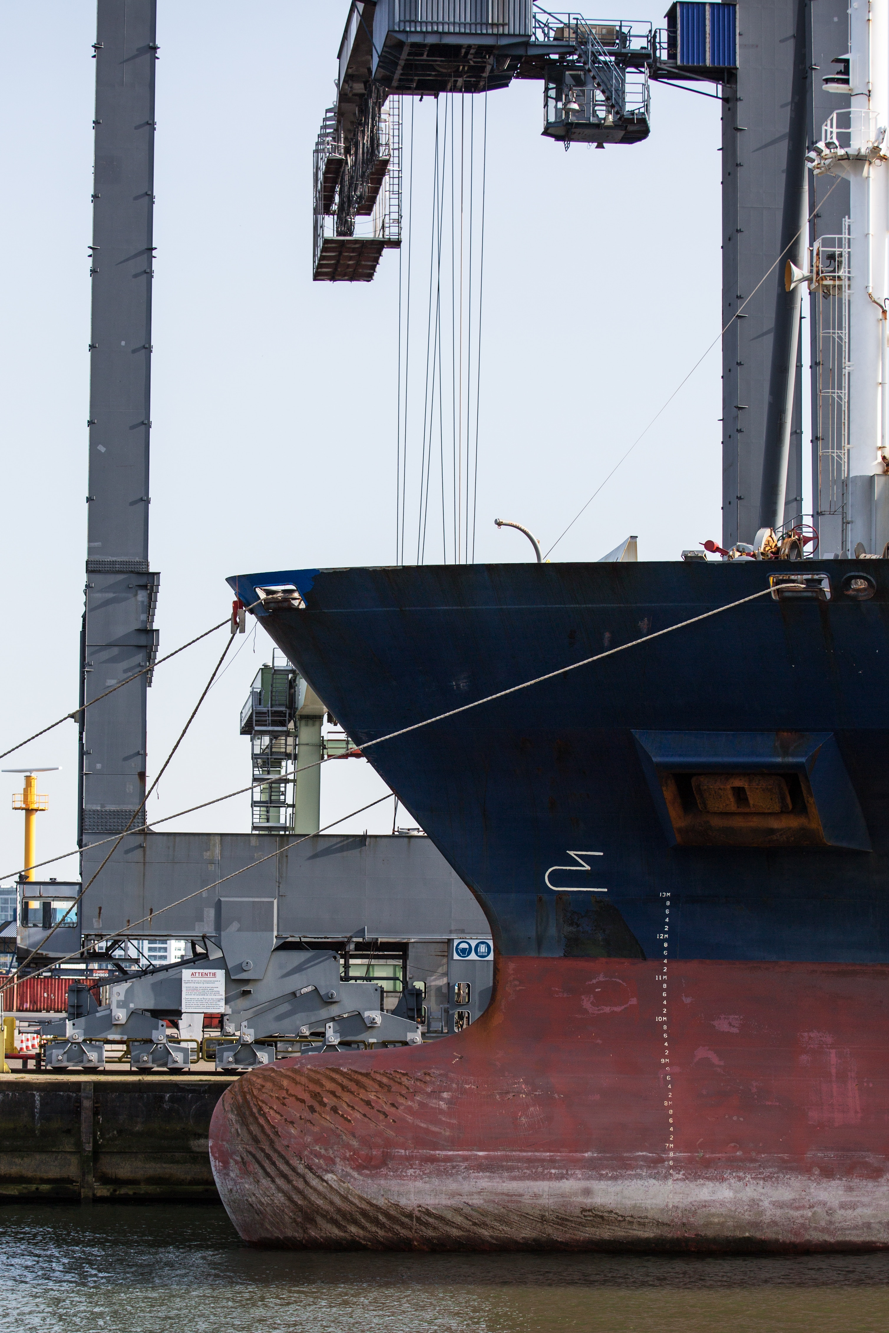vessel + terminal